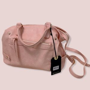 NWT Moda Luxe satchel pink handbag
